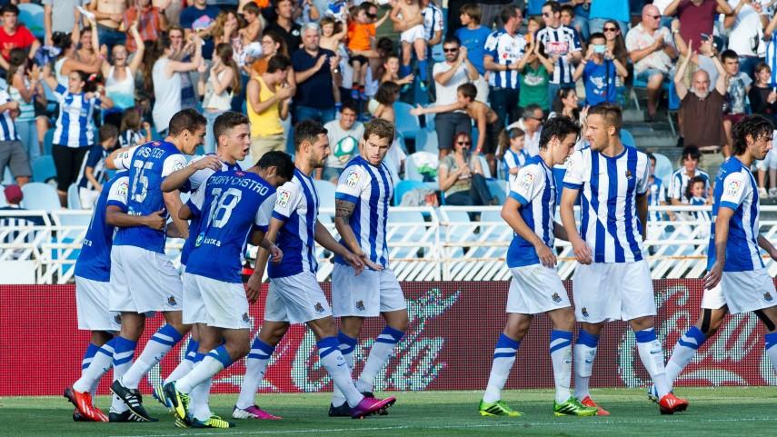Real Sociedad y Almería, protagonistas