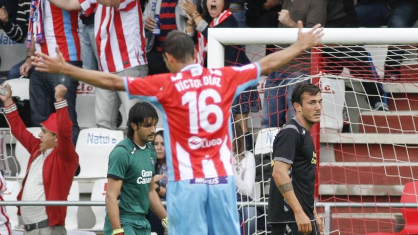 Lugo disfruta con su equipo