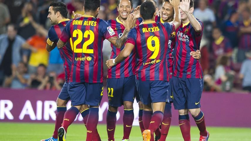 Alexis decide el derbi catalán