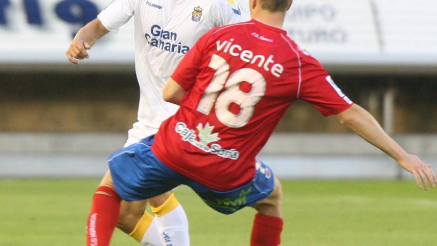 El Numancia pierde a Vicente