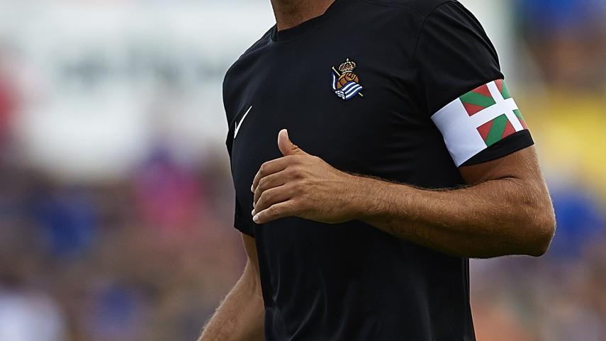 Xabi Prieto sufre una rotura de fibras