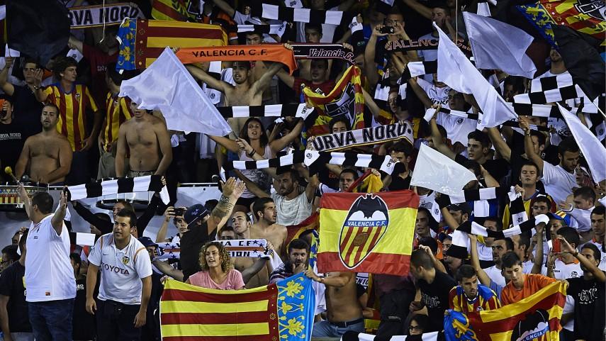 El Valencia exhibe sus trofeos
