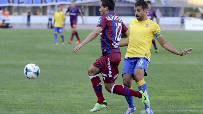 David García, lesionado en Las Palmas