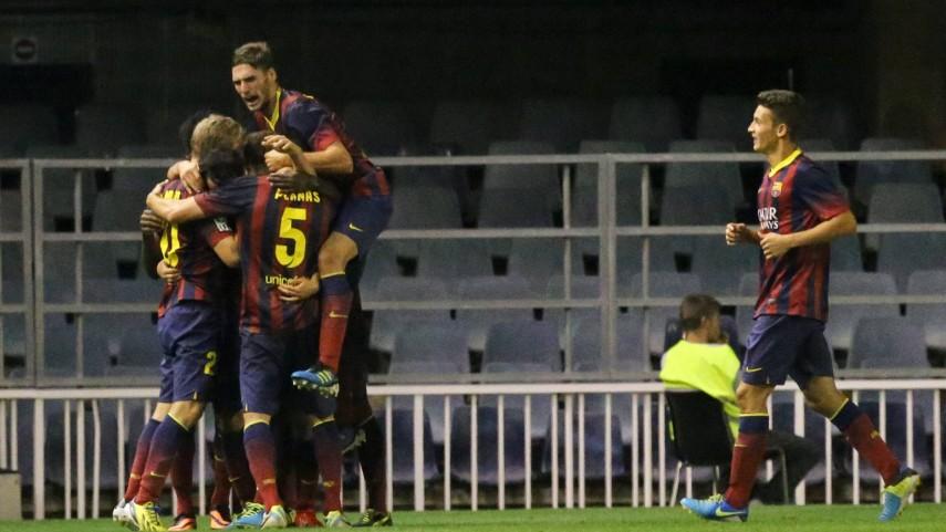 Remontada del Barcelona B en Vitoria