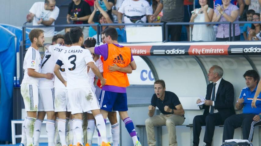 Primeros puntos para el Castilla