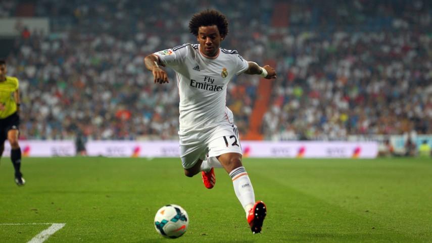 Marcelo, baja en el Real Madrid