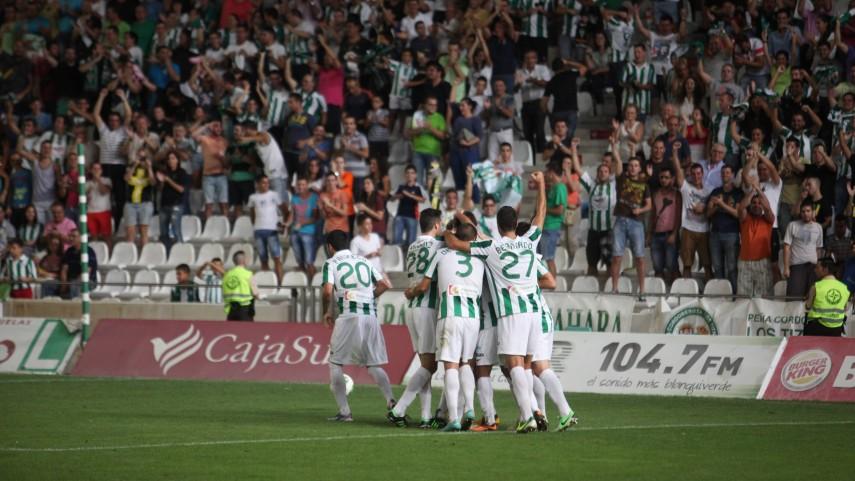 El Córdoba recupera la sonrisa