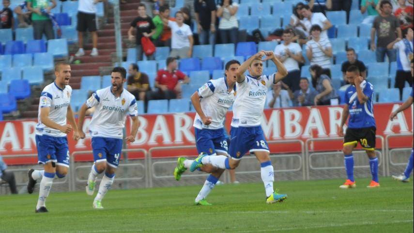 Henríquez impulsa al Zaragoza