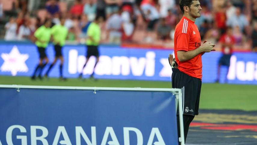 Casillas se reincorpora