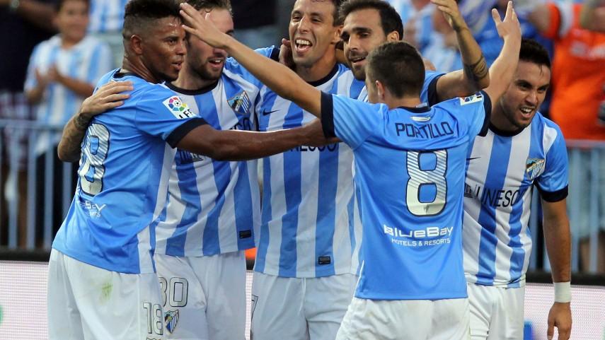 El Málaga, nominado como mejor club del año en los Globe Soccer Awards