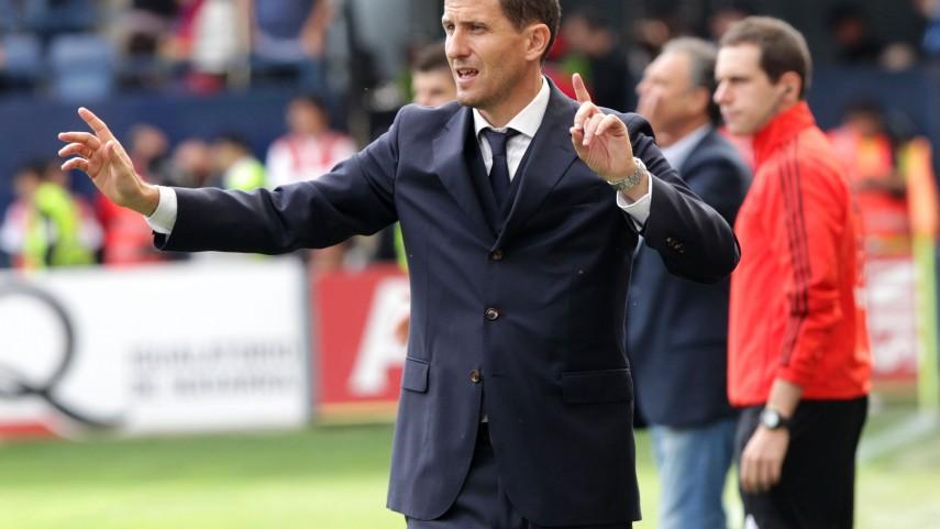 Javi Gracia, nuevo entrenador del Málaga
