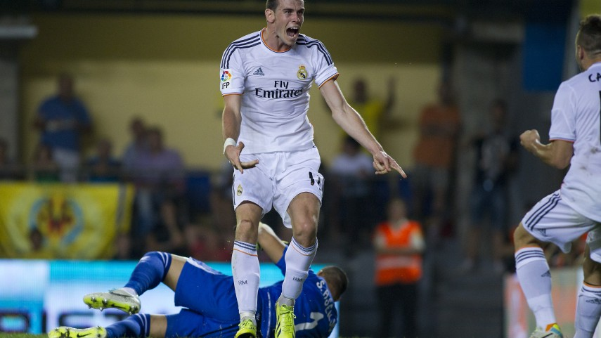 Bale sufre una contractura muscular