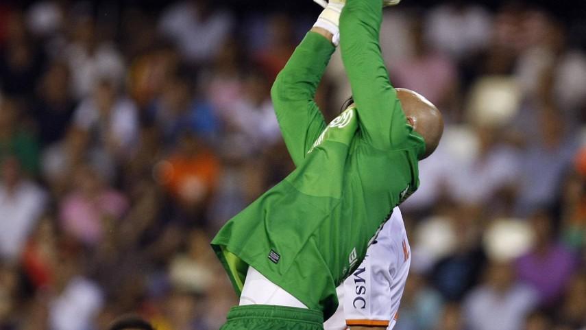 Willy Caballero llega a 100 partidos con el Málaga