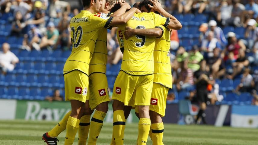 Borja lidera el triunfo del Deportivo