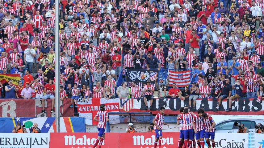 El Atlético celebra el Día de las Peñas