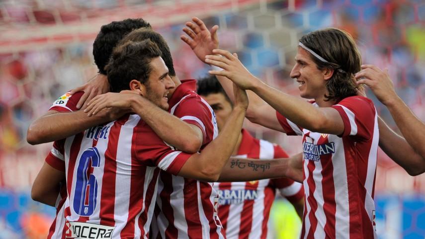 El Atlético ya es semifinalista de la Champions