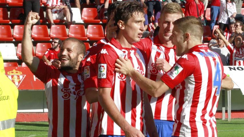 Šćepović, el hombre gol del Sporting