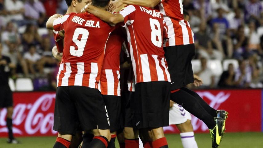 El Athletic golea en San Mamés