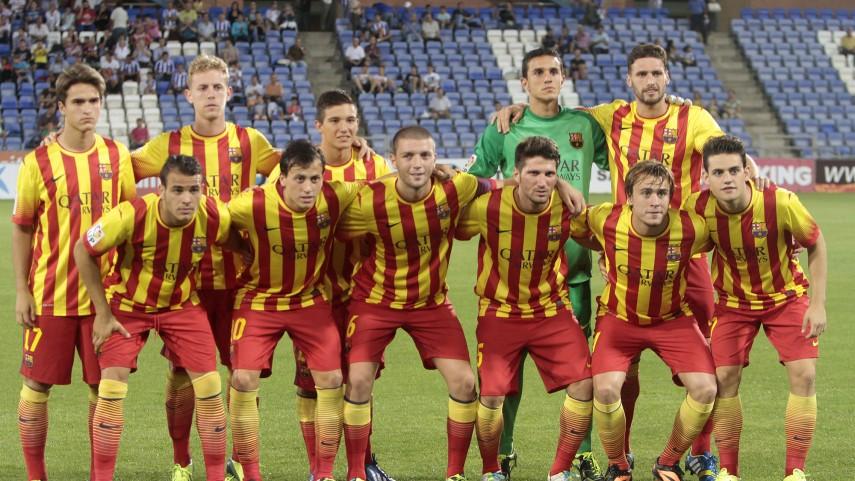 El Barcelona B pierde a Campins