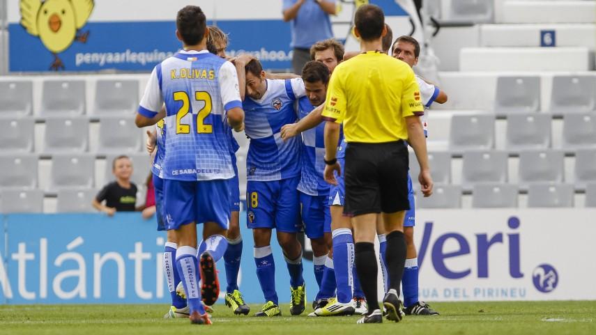 El Sabadell consigue frenar al Murcia