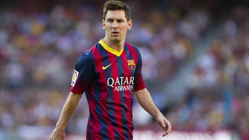 Messi, de dos a tres semanas de baja