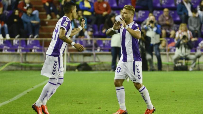 Ebert y Rossi, 'tocados' en el Valladolid