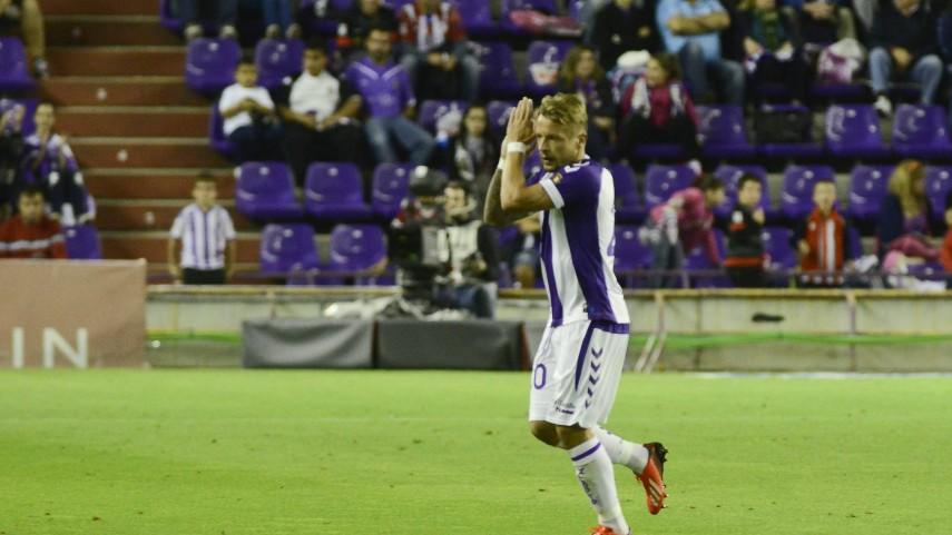 Ebert, duda ante el Málaga