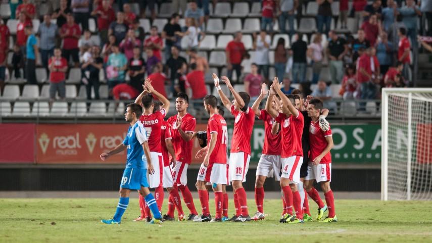 Kike rescata un punto para el Murcia