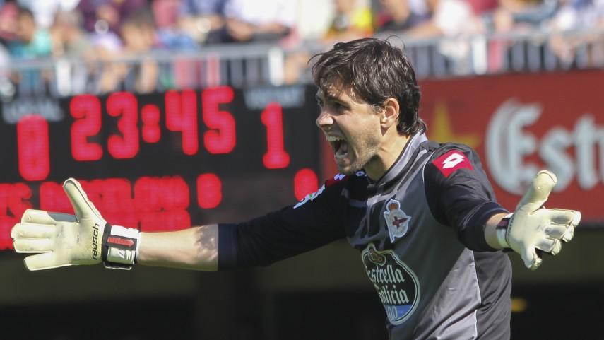 Germán Lux, el nuevo cerrojo del Deportivo