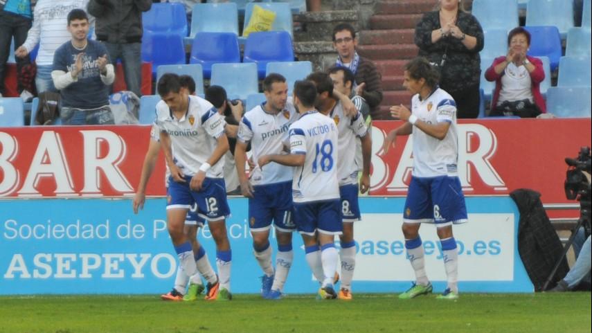 Segunda victoria consecutiva del Zaragoza