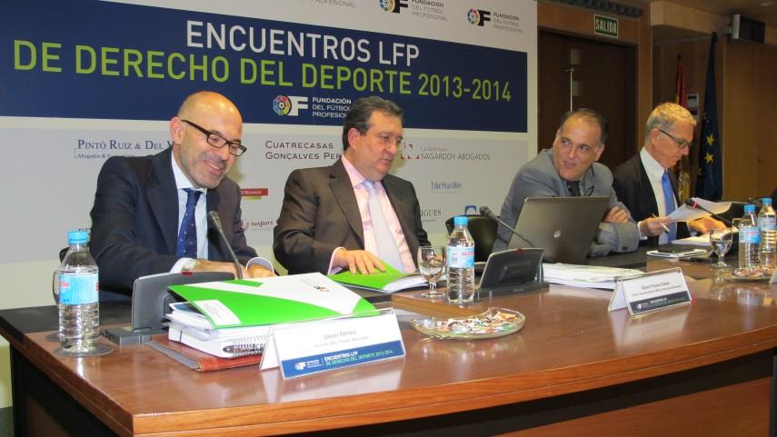 Éxito rotundo en el III Encuentro LFP Derecho y Deporte