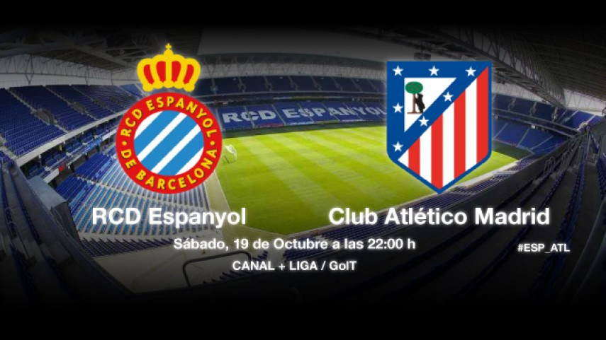 El Espanyol quiere parar al Atlético