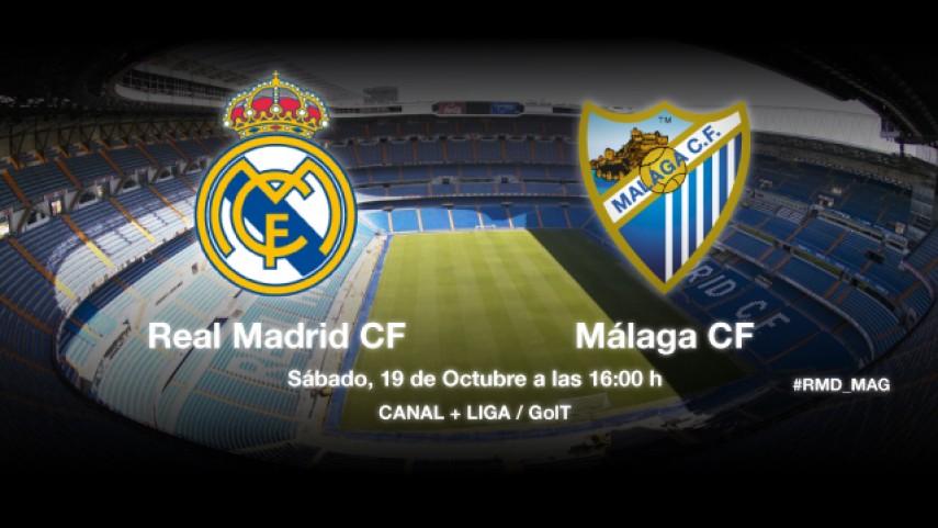 Nuevo reto del Málaga en el Santiago Bernabéu
