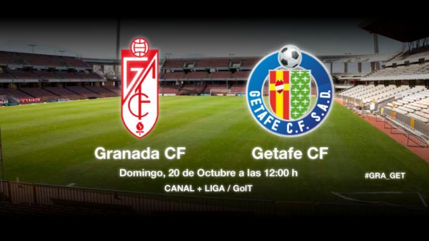 El Granada recibe a un Getafe en racha
