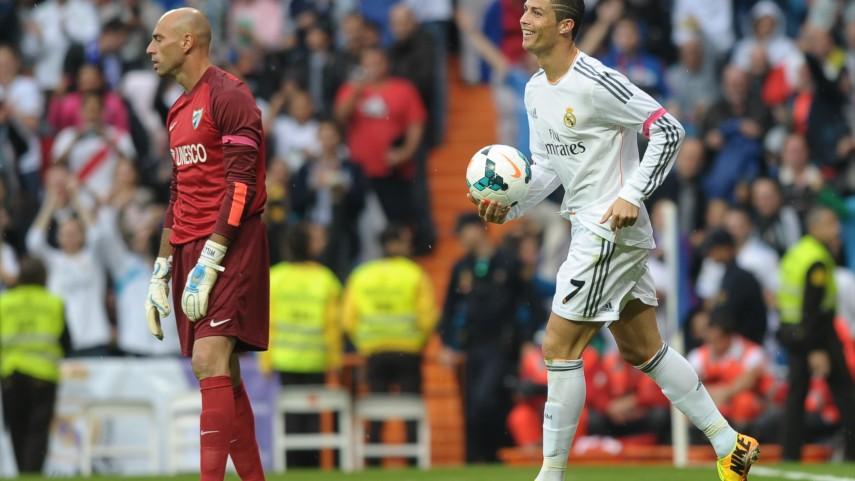 Caballero no fue suficiente en el Bernabéu