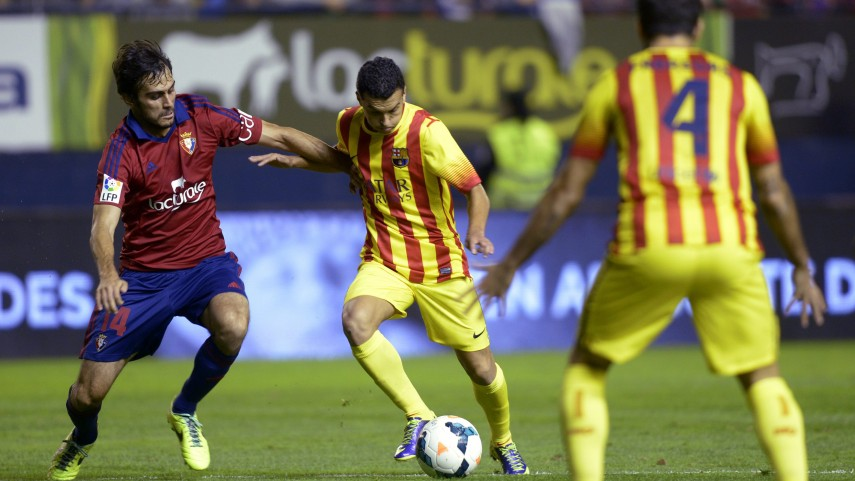 Osasuna frena al Barcelona