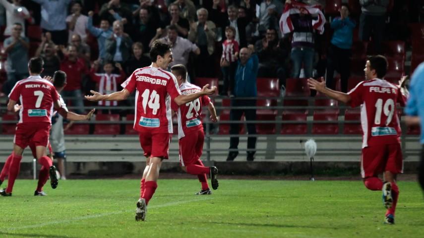 El Girona se impone en Anduva