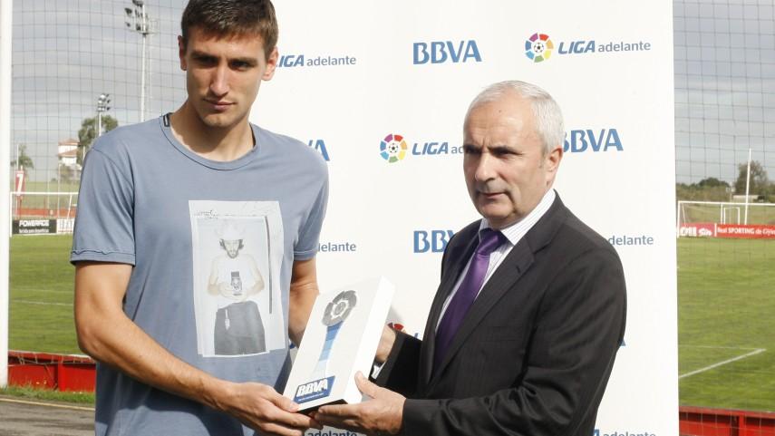 Šćepović, mejor jugador de la Liga Adelante de septiembre