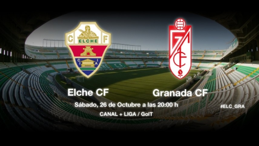 El Granada pone a prueba el buen momento del Elche