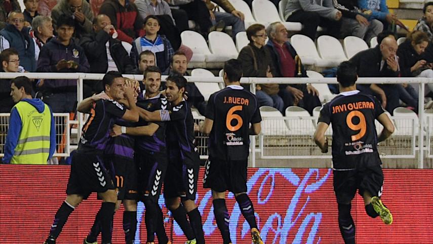 El Valladolid gana por efectividad