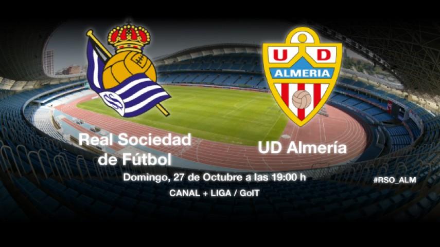 El Almería, a por su primera victoria en Anoeta