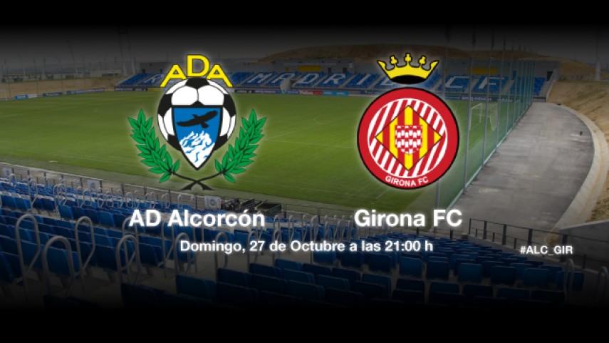 El Alcorcón recibe a un Girona en buena forma