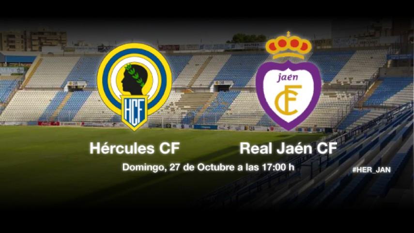 Hércules y Jaén buscan tres puntos vitales