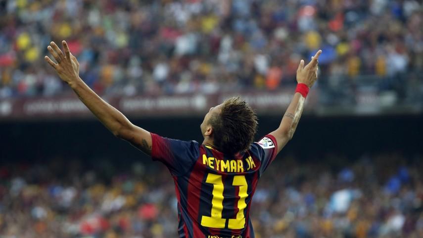 Neymar lidera el triunfo ante el Villarreal
