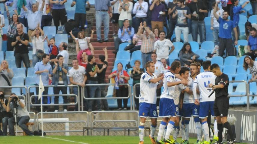 El Zaragoza alcanza la cuarta plaza