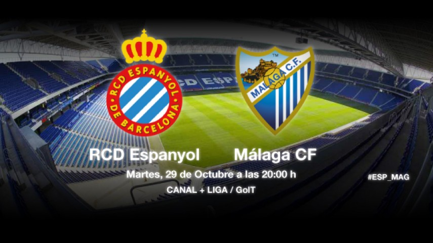 Espanyol y Málaga, a recuperar sensaciones