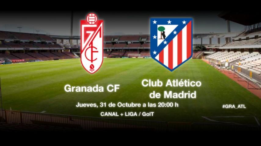 El Granada mide el buen momento del Atlético