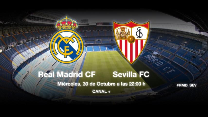 El Sevilla defiende su racha en el Bernabéu