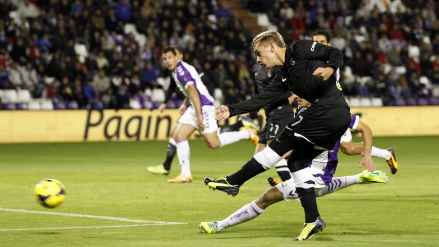 El Valladolid reacciona y salva un punto