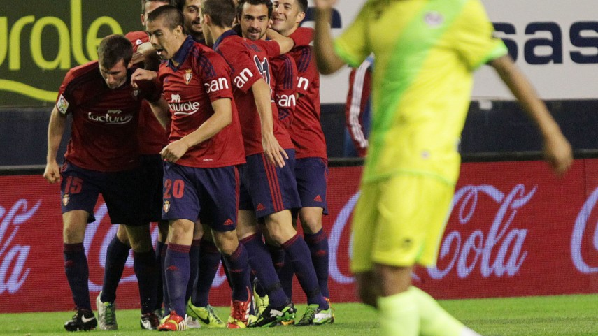 Osasuna sale del descenso